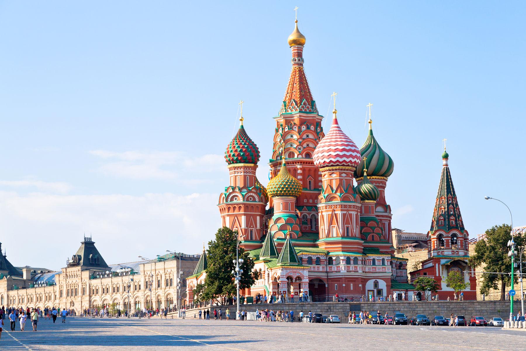 Russian Visa Destinations 100