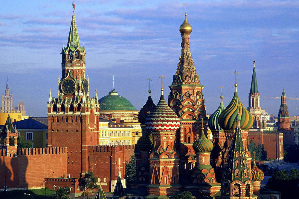 The Kremlin + cathedral