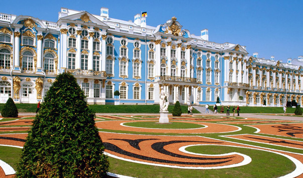 Pushkin (Catherine Palace and park)