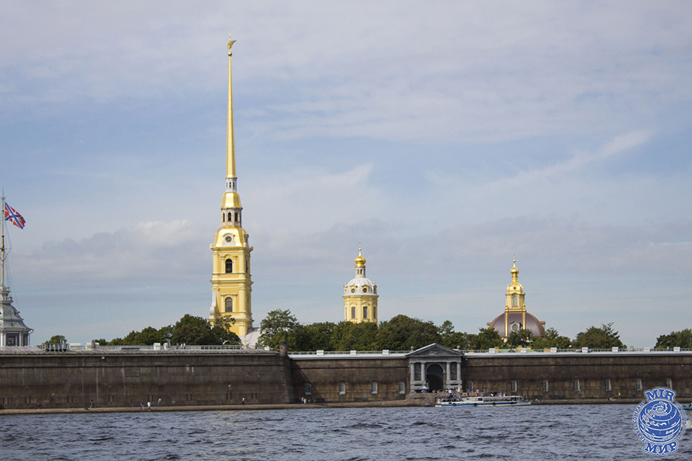 Peter and Paul Fortress (as a continuation of city tour)