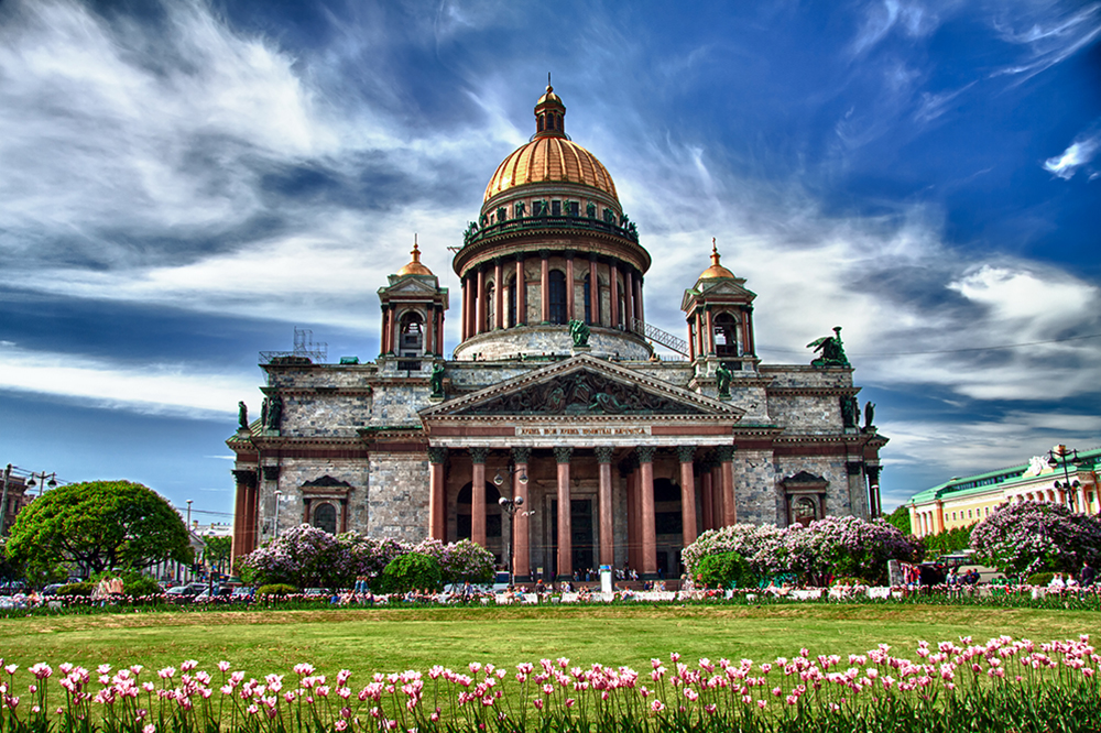 St. Isaac's Cathedral (as a continuation of city tour)